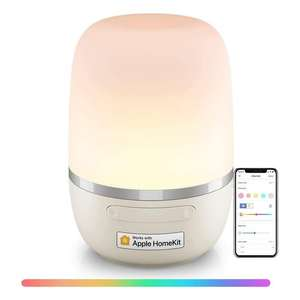 Meross RGB LED Night Light Compatible with HomeKit Alexa Google Assistant SmartThings £24.99 Using Code - Sold by Meross Home EU / Amazon
