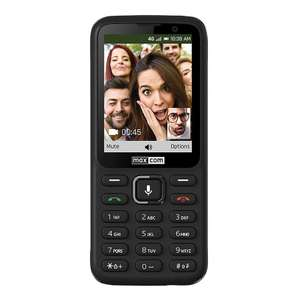 Maxcom 4G Unlocked SIM Free Smart Feature Mobile Phone - Black (MK241) £32.99 at MyMemory