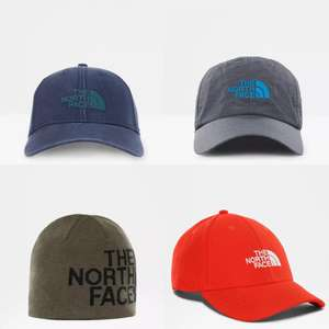 The North Face Baseball Cap from £8 or Reversible Beanie from £8.80 delivered (UK Mainland) @ The North Face