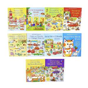 Free delivery with no minimum spend (e.g. Richard Scarry Collection 10 Books Set for £17.99) @ Books2Door