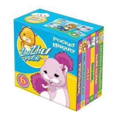Zhu Zhu Pets Pocket Library (6 Books) £1 Delivered @ Books 2 Door