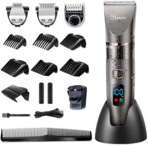 Hatteker Cordless Waterproof Hair and Beard Clippers £29.74 Sold by mingleshop and Fulfilled by Amazon
