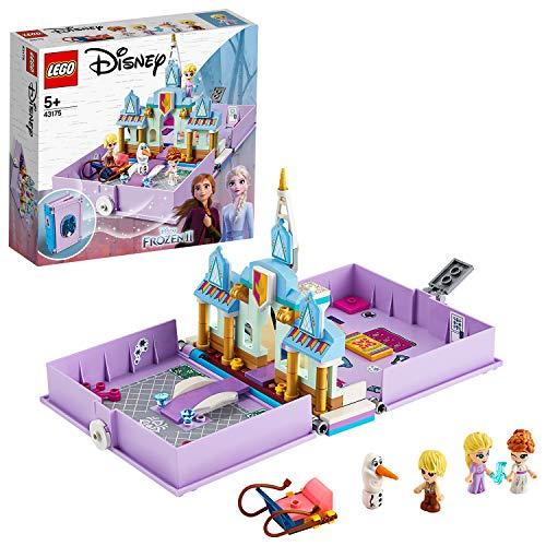 LEGO 43175 Disney Frozen II Anna and Elsa's Storybook Adventures Playset, £13.37 Prime/ + £4.49 non Prime at Amazon EU (UK mainland)