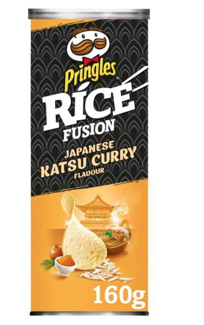 Pringles Rice Fusion Japanese Katsu Curry 160g 50p instore @ Tesco Sutton