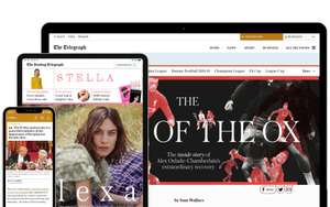 £10 off on spends of £13 and above @ Telegraph Subscriptions (Amex offers)