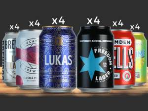 Mixed Mega-Packs 24 beers for £24 delivered with code @ Beer Hawk - New customers only