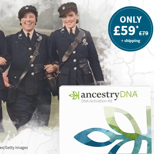 AncestryDNA offer at £59