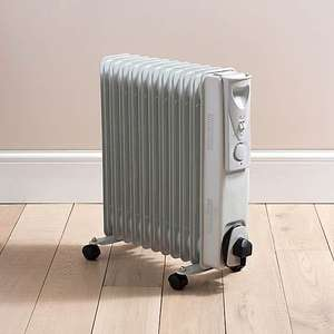 2500W 11 Fin Oil Filled Radiator - £22.50 + £3.95 Delivery @ Dunelm