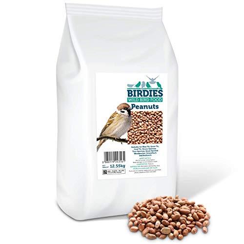 Birdies Wild Bird Food- Premium Peanuts - Bird Food for Wild Birds 12.55kg - £21.99 / £16.49 with 15% voucher and 10% s&s at Amazon