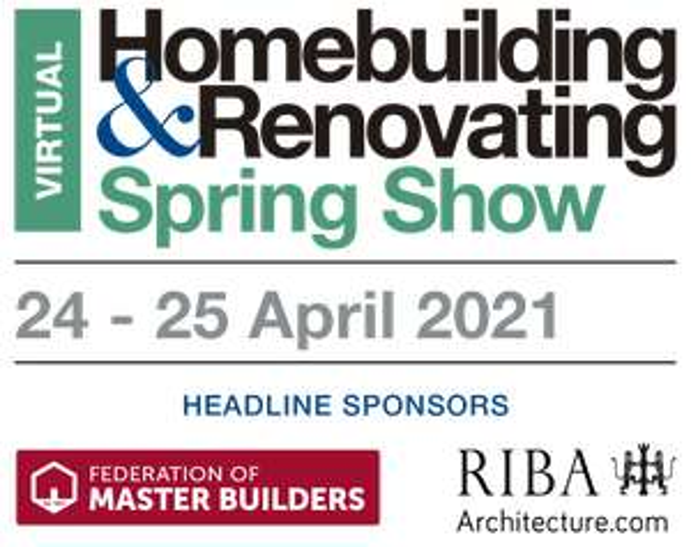 Free Homebuilding & Renovating Spring Show Tickets (Virtual)