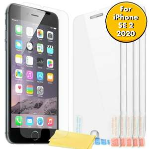 6X Film Screen Protector for Apple iPhone SE 2 (2020) - £1.99 delivered @ circuit_planet / ebay