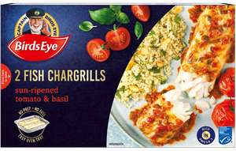 Birds Eye 2 Sun-Ripened Tomato & Basil Seasoned Fish Chargrills - £1.50 instore @ Fulton Foods, Huddersfield