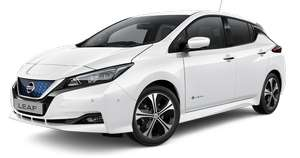 Nissan Leaf N-Connecta 40KWh £187 per month, 5000 miles, 36 month lease £8462 (incl. £234 broker fee) @ EDF Energy/DriveElectric