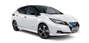 Nissan Leaf Hatchback 110kW Acenta 40kWh 5dr Auto [6.6kw Charger]/1+23 Months/£274.06 p/m/10000 miles p/a with £238 Fee at Vertu Motors