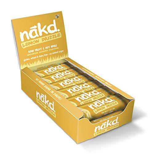 Nakd Lemon Drizzle Natural Fruit & Nut Bars - Vegan - Gluten Free - Healthy Snack 35 g (Pack of 18) £9 (Prime) + £4.49 (non Prime) at Amazon