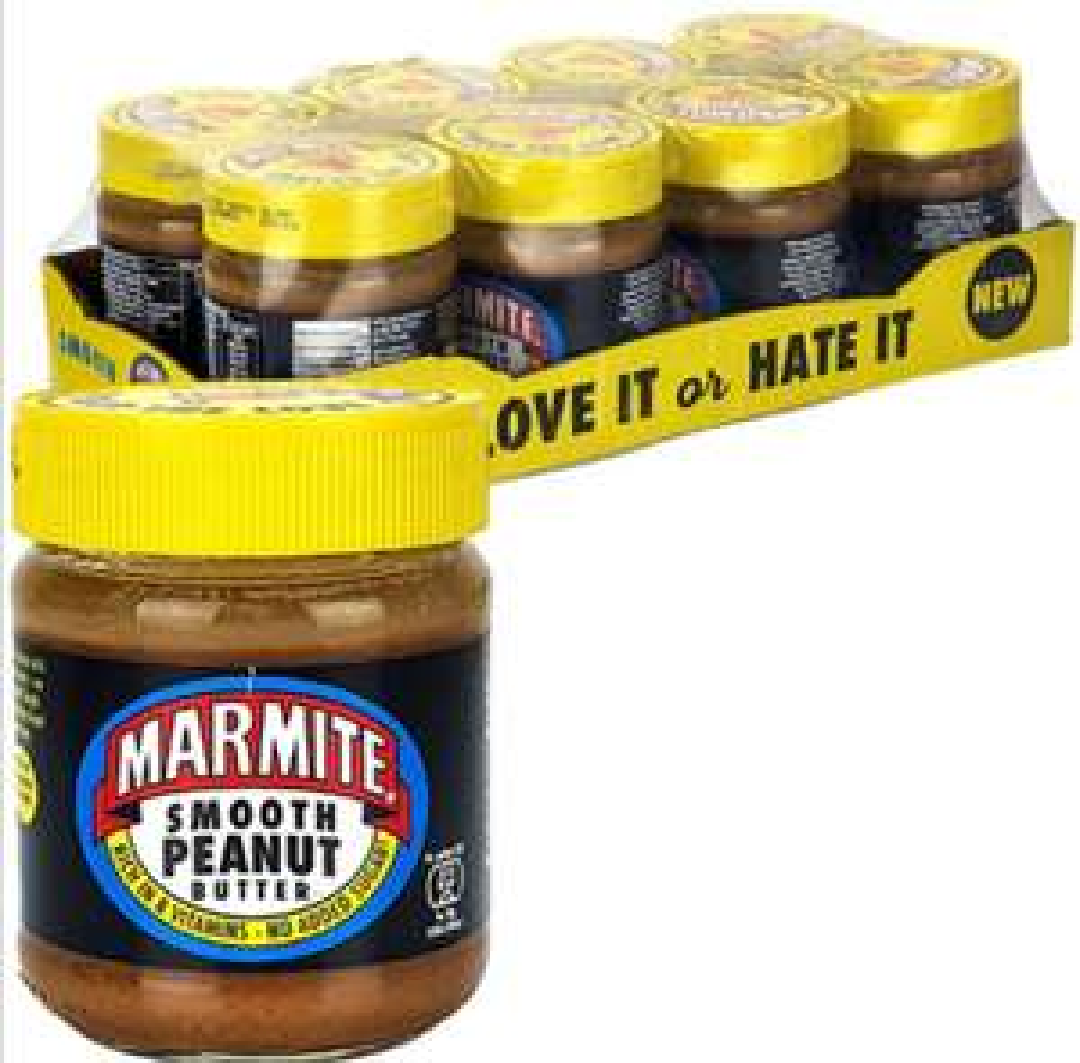 8 x Marmite Smooth Peanut Butter 225g - £10 Delivered @ Yankee Bundles