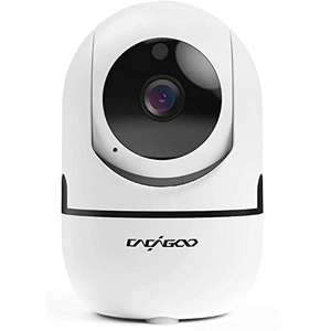 CACAGOO Baby Monitor, Security Camera WiFi Camera 1080 HD - £17.99 Prime (+£4.49 NP) Sold by CompAcy and Fulfilled by Amazon
