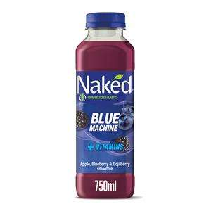 Naked Smoothie 750ml various flavours for £2 (Minimum Basket / Delivery Fees Apply) at Sainsburys