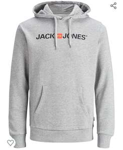 Jack & Jones hoodie/hoody in grey available in S, M, L & XL for £19.49 (+£4.49 Non Prime) @ Amazon