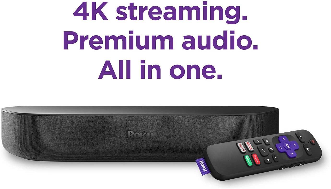 Roku Streambar | HD/4K/HDR Streaming Media Player and Soundbar - £99 delivered @ AO