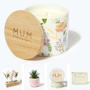 30% Off Mother's Day Gifts + Free delivery on £50 spend (otherwise £3.95) @ Matalan