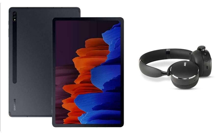 """(UNiDAYS) Samsung Galaxy Galaxy Tab S7+ 256 GB 8G RAM (12.4"""", Wi-Fi) + AKG Headphone £695.20 + £30 Amazon reward voucher"""