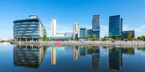 5-star Manchester getaway with dinner & wine The Lowry Hotel for £159 per night @ Travel Zoo