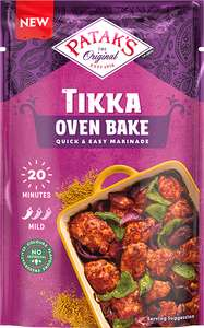 Patak's tikka oven bake 120g £1 at Morrison's Sutton