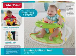 Fisher-Price Giraffe Sit Me Up Feeding Booster Seat With Tray now £36.49 delivered @ Amazon