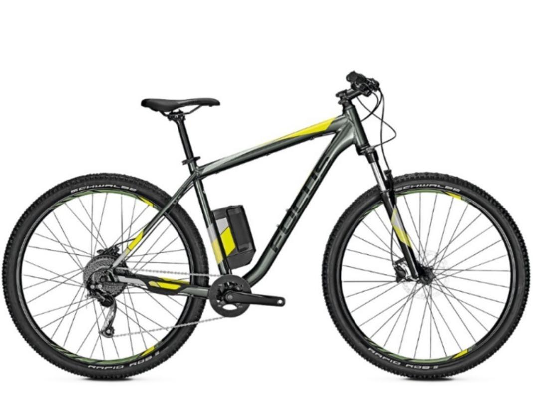 Hardtail ebike at Rutland: Return Focus Whistler2 3.9 2019 Hardtail MTB Grey L Electric Bike now £999.99 at Rutland Cycling