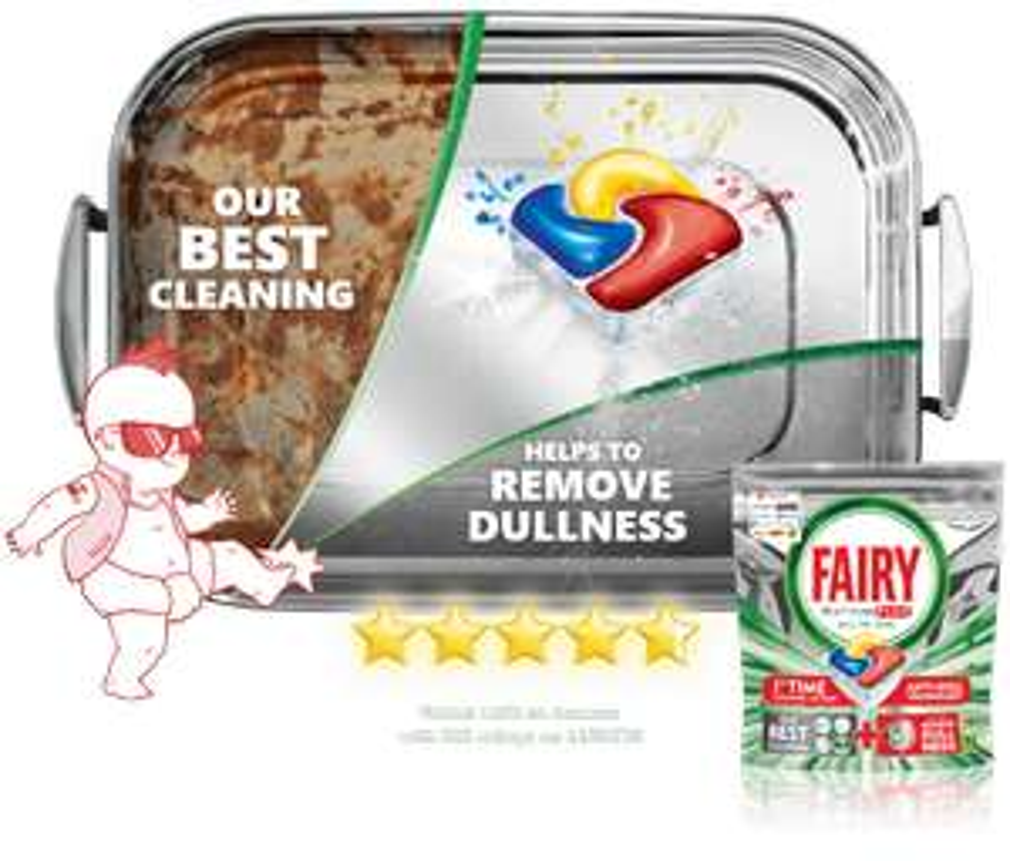 Free Dishwasher Tablets - Fairy 3 Pack via SuperSavvyMe