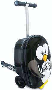 Flyte Percy the Penguin 3 Wheel Hard Foldable Scooter Suitcase £24.95 delivered @ Argos