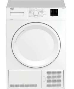 BEKO DTKCE80021W 8 kg Condenser Tumble Dryer - White £154.27 Nectar card holders / £163.34 without @ eBay Currys Clearance