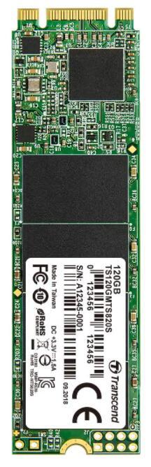 120GB - Transcend ESATA III 6Gb/s MTS820S 80mm M.2 SSD820S Solid State Drive - £15.80 Prime / +£4.49 NonPrime @ Amazon UK