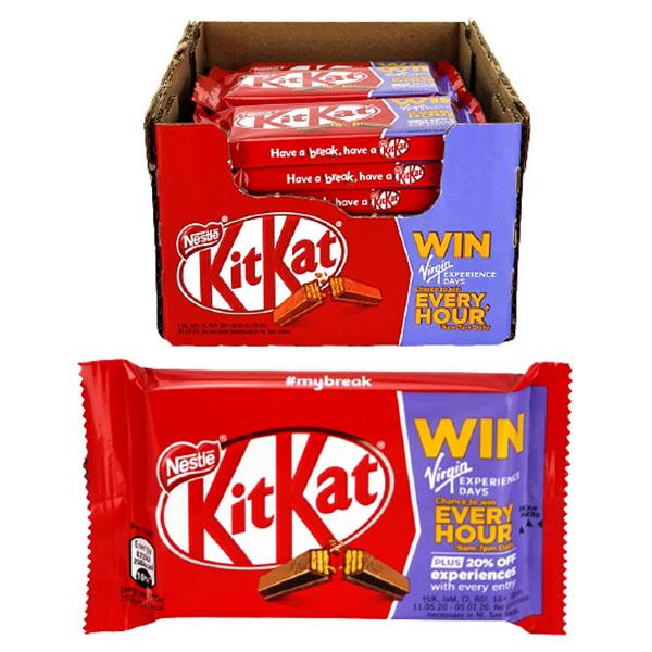 24 x Nestle Kit Kat Chocolate 41.5g Four Finger Original Bars - £8 delivered @ Yankee Bundles