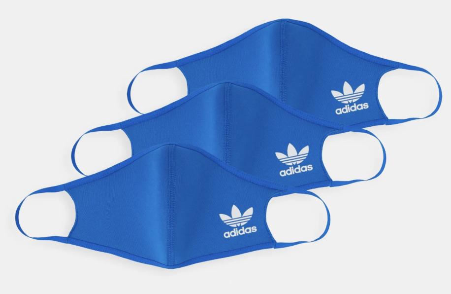 3 Pack Adidas Masks - £7.14 (+£3 Shipping) @ Zalando