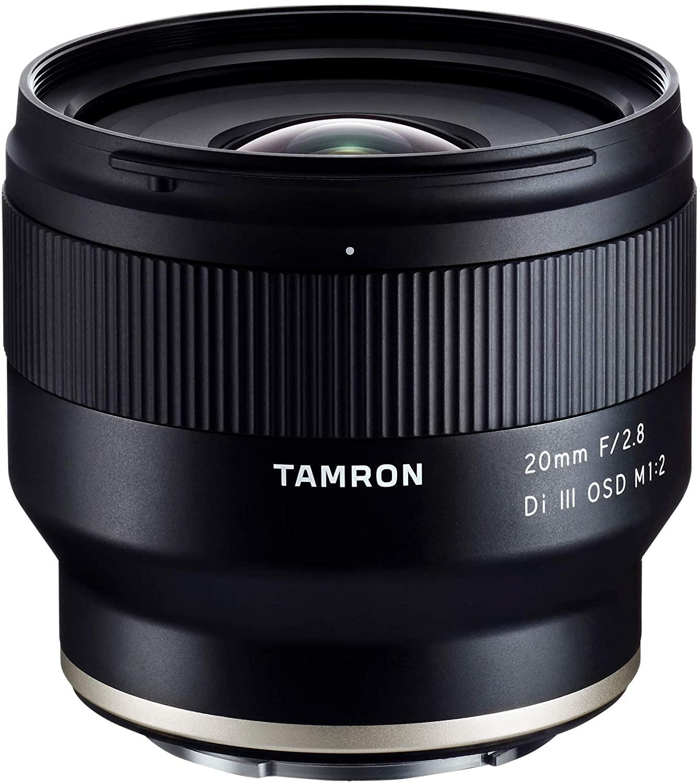 Tamron 20mm F/2.8 DI III OSD 1/2 Macro Sony FE Camera Lense £261.02 at Amazon
