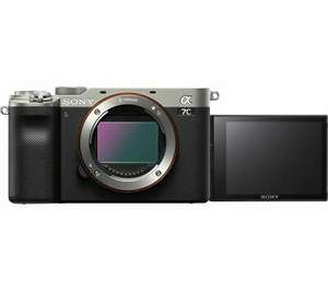 SONY a7 C Mirrorless Camera Silver, Body Only - Opened never used - £1,445.38 with voucher at ebay currys_clearance