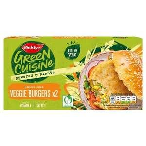 Birds Eye 2 Green Cuisine Veggie Burgers - 75p / Birds Eye Green Cuisine 10 Veggie Fingers - 75p (Min Spend / Delivery Fee Applies) @ Asda