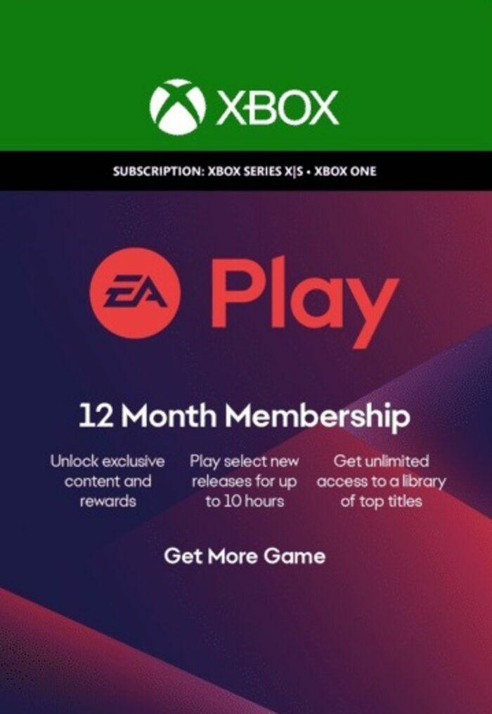 12 month EA Access (XBOX) £16.87 @ eneba (MECS)