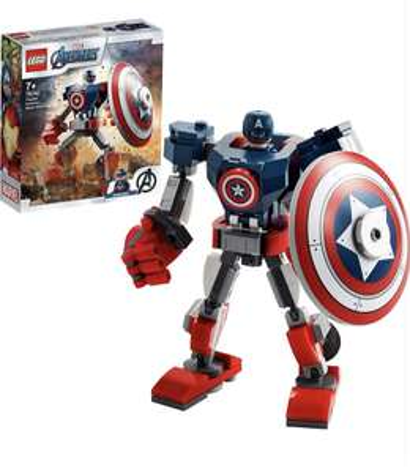 Lego Marvel Avengers 76168 Captain America Mech £6.76 prime / £11.25 nonPrime (UK Mainland) Sold by Amazon EU