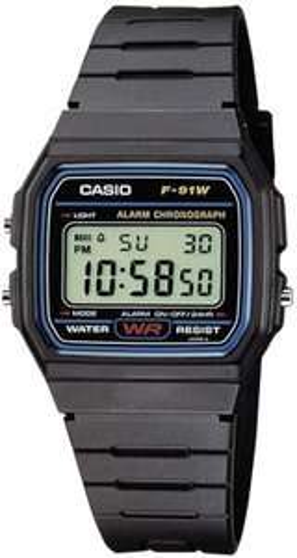 Casio Collection Unisex Digital Watch F-91W - £7.50 prime / + £4.49 non prime @ Amazon