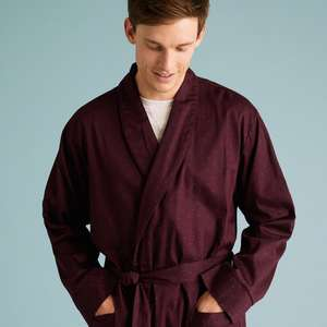 Men's dressing gowns from £12 / Women's dressing gowns from £9 (+ £3.50 delivery or free with £50 spend) @ Mark's & Spencer