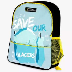 National Geographic Save Our Glaciers Children's Backpack £6 + £3.50 delivery at John Lewis & Partners