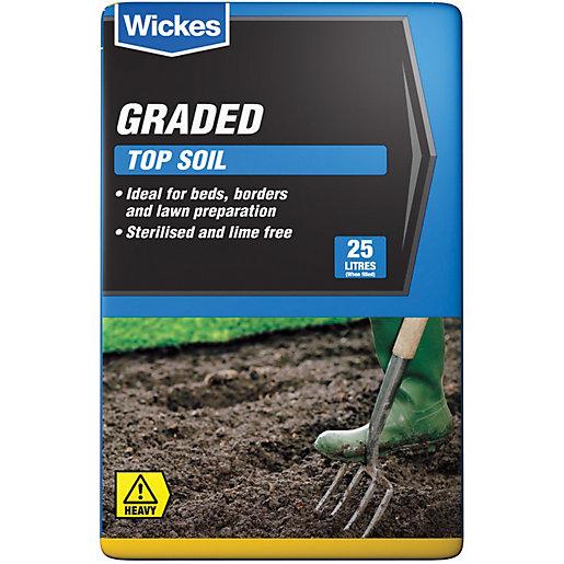 Wickes Multi-Purpose Top Soil 25L - 4 for £10 (+£7.95 Delivery / Free Click & Collect) @ Wickes