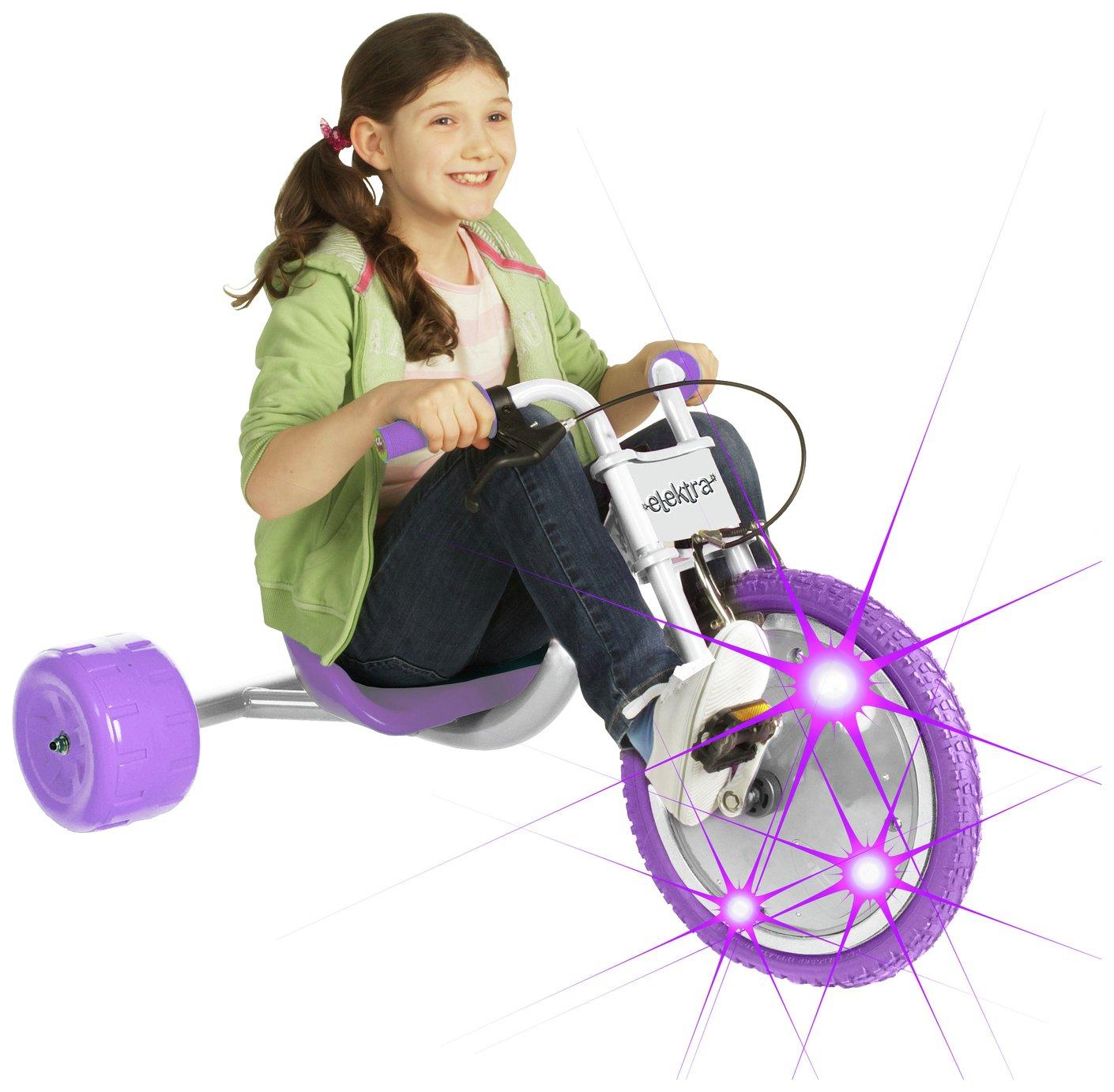 Elektra Flashing Hog Ride On Flashing Trike Go cart now £33 + £3.95 (limted locations) at Argos