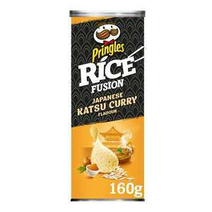 Pringles Rice Fusion Japanese Katsu Curry 160g - 59p each or two for £ 1.00 farmfoods Middlesbrough
