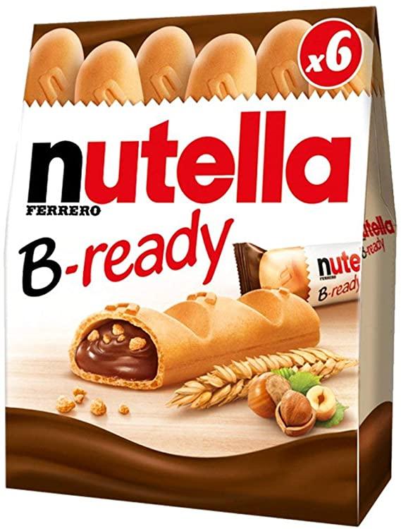 Nutella B-Ready 6 X 22G £1.50 at FarmFoods Blackwood