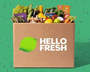 40% of the next 2 boxes on Hello Fresh - (Available for customers with a cancelled subscription)