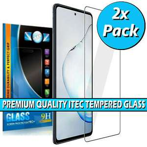 2x Samsung Galaxy S10 LITE 2020 Tempered Glass Screen Protector - 99p delivered @ circuit_planet / ebay